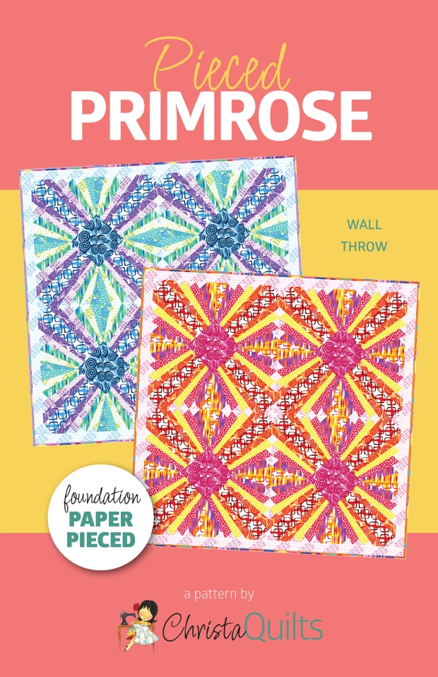 Pieced Primrose Quilt Pattern