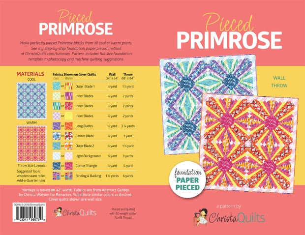 Pieced Primrose Quilt Pattern