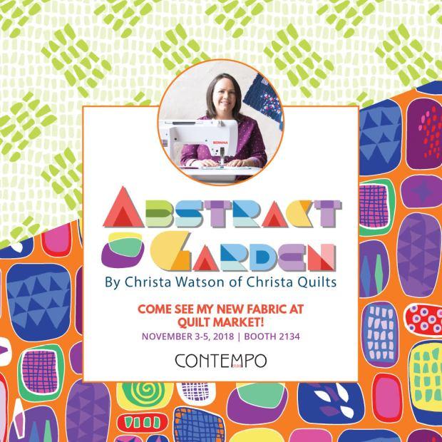 Abstract Garden by Christa Watson