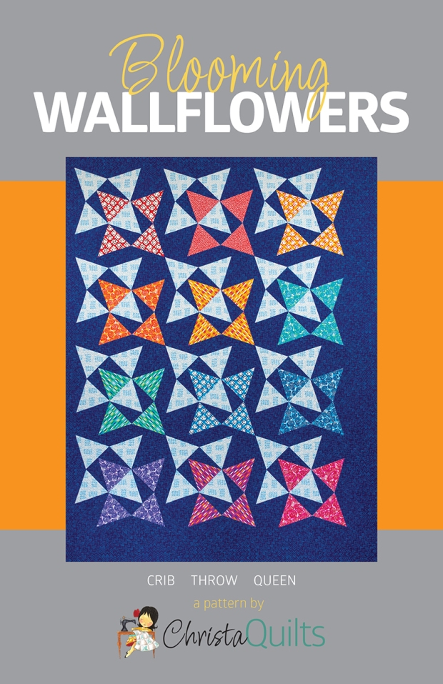 Blooming Wallflowers quilt