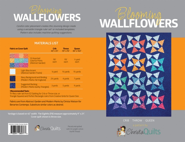 Blooming Wallflowers Pattern Cover