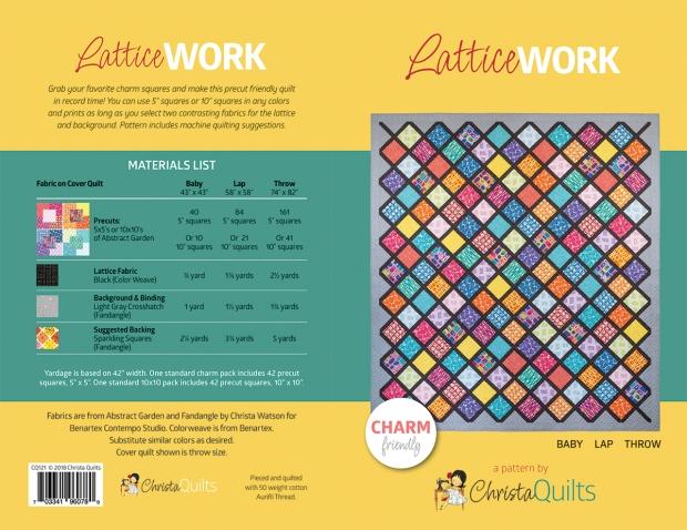Lattice Work Quilt Pattern