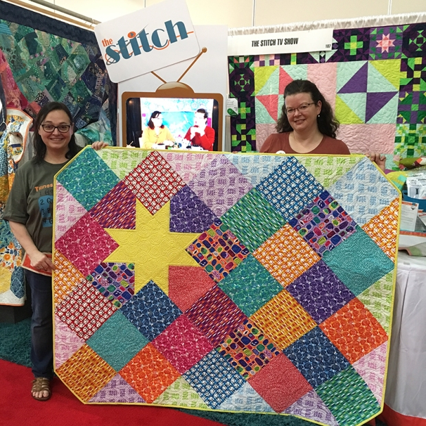 A Star is Born by The Stitch TV Show featuring Abstract Garden