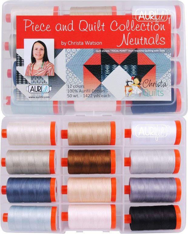 Piece and Quilt Neutrals by Christa Watson