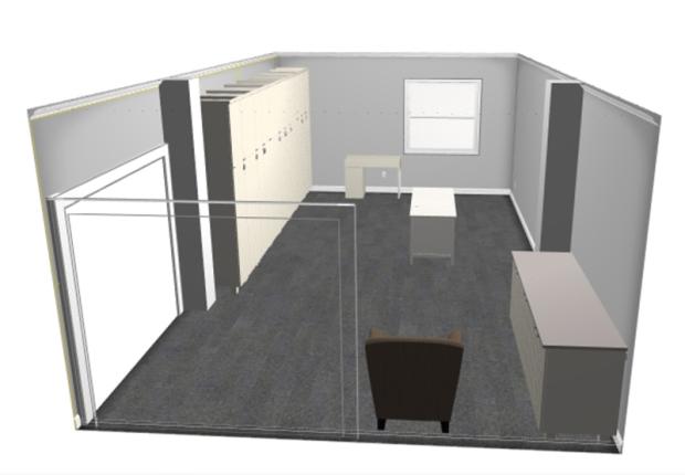 sewing Studio Floorplan