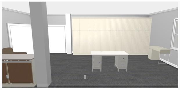 Sewing Room Plan