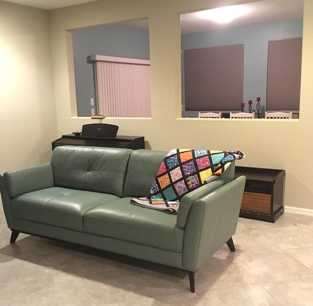Quilt on a Couch