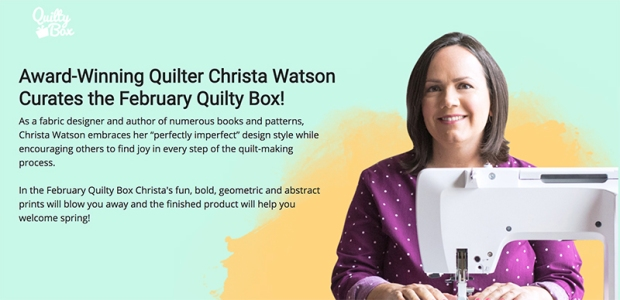 Quilty Box February 2019