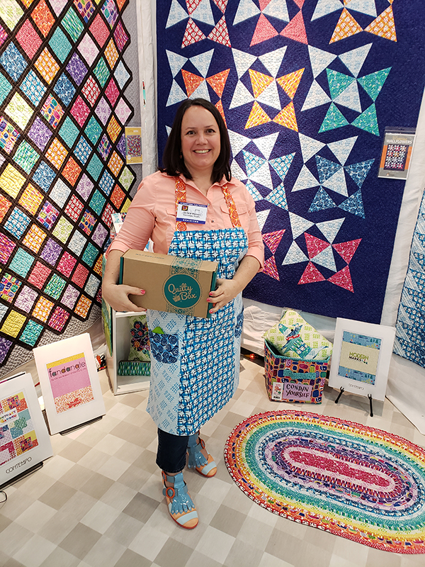 February 2019 QuiltyBox with Christa Watson