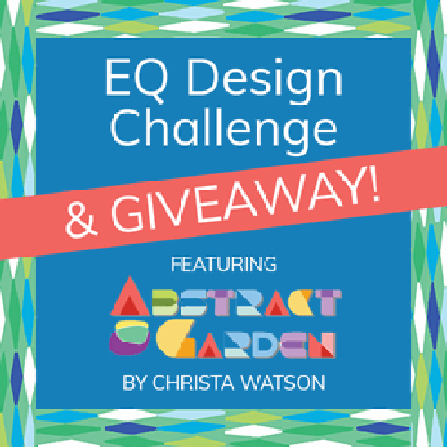 Electric Quilt Design Contest for Abstract Garden