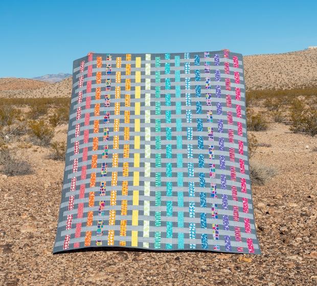 Rainbow Weave Quilt
