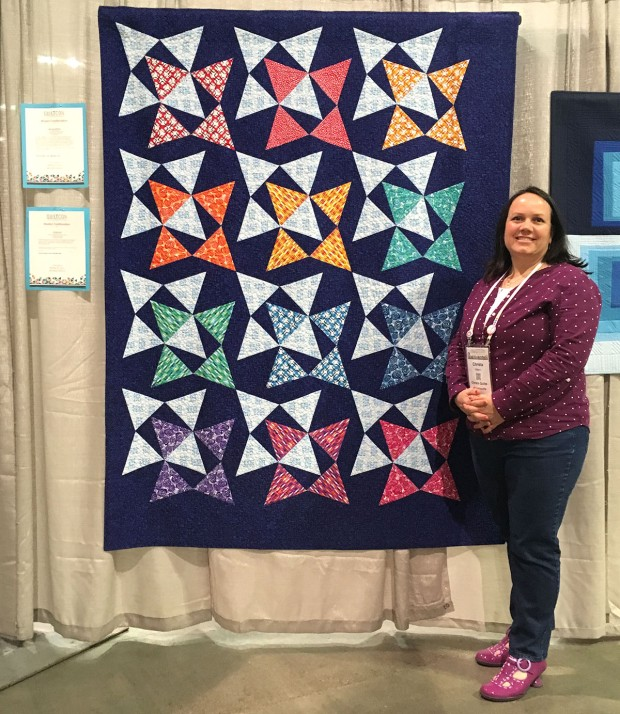 Blooming Wallflowers by Christa Watson QuiltCon 2019