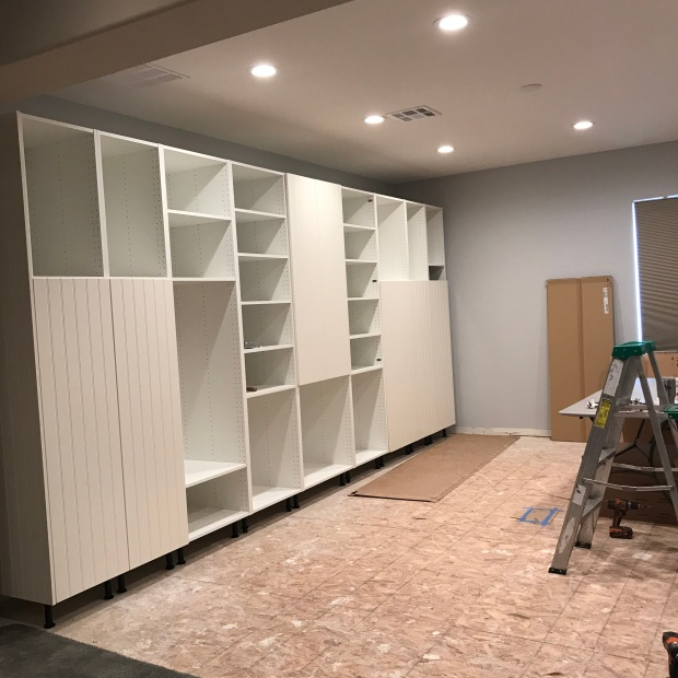 Sewing Room Ikea Cabinets