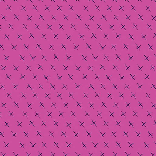 Modern Marks Crossmarks Pink