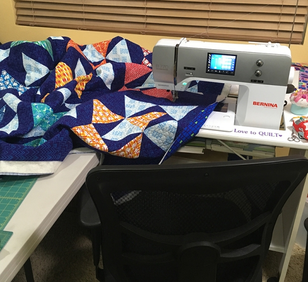 Blooming Wallflowers Quilting