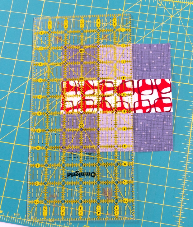 Rainbow Weave Quilt Block