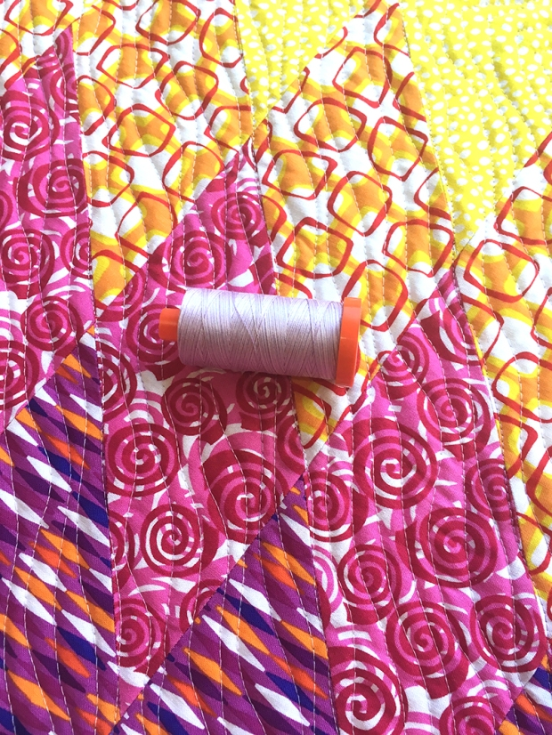 Pink Variegated Thread from Aurifil