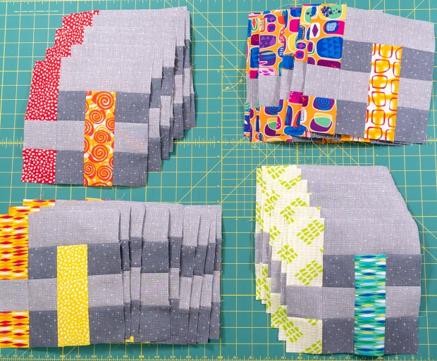 Rainbow Weave Blocks