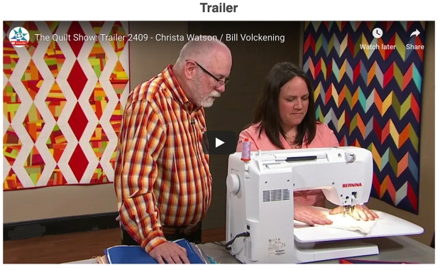 The Quilt Show Trailer