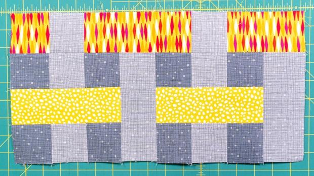 Rainbow Weave Blocks