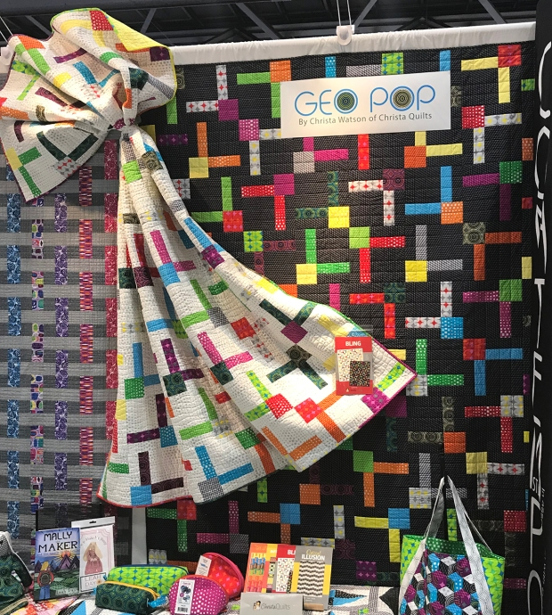 Bling Quilts with Geo Pop