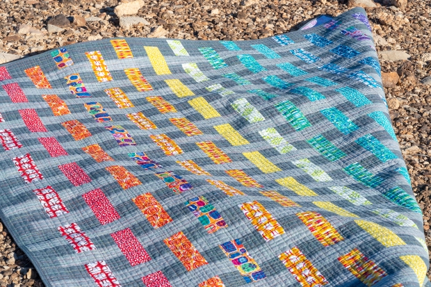 Color Weave Quilt Pattern by Christa Quilts