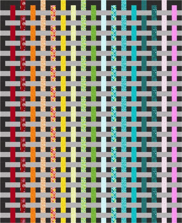 Color Weave Fandangle