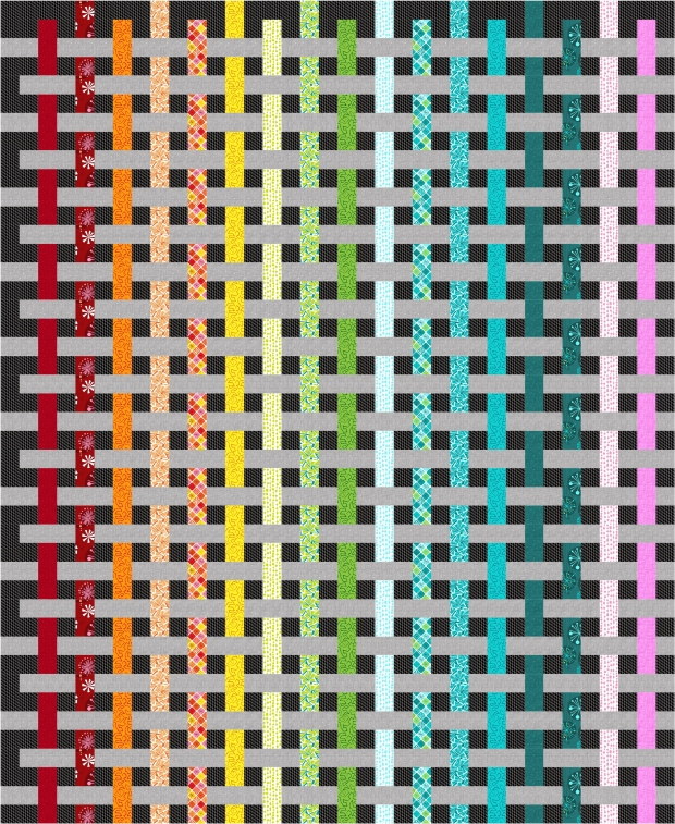 Color Weave Fandangle