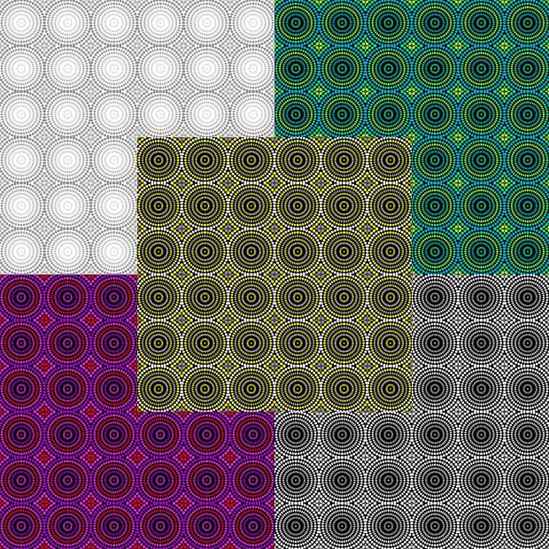 Geo Pop Mosaic Dots