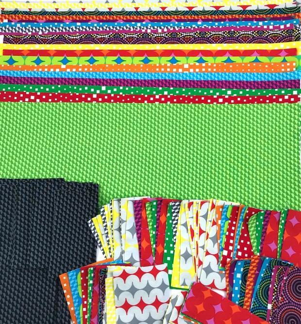 Geo Pop Fabric