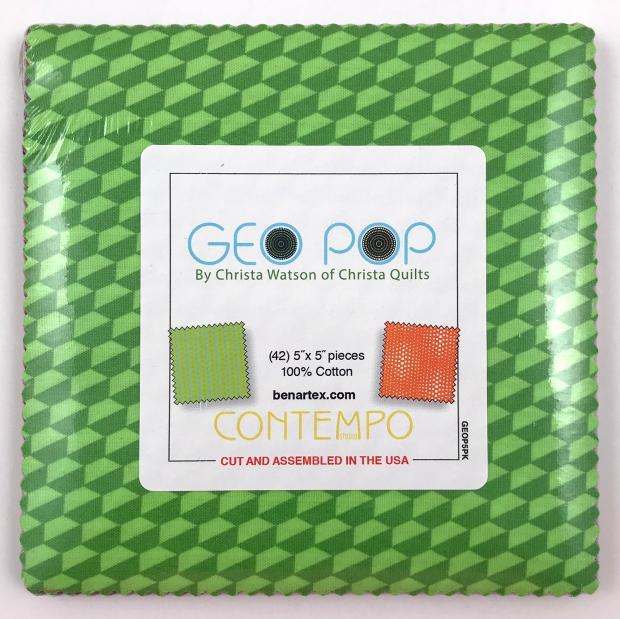Geo Pop 5x5