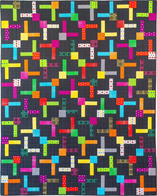 Bling Quilt - Geo Pop Fabric by Christa Watson