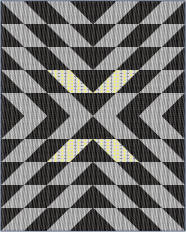 Modern X in Geo Pop