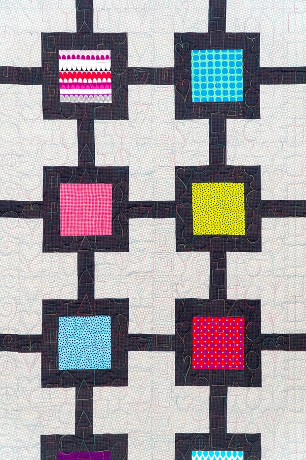Geometric Chains Quilting