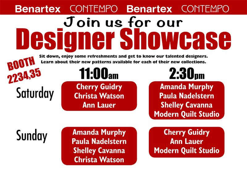 Benartex Designer Showcase 2019