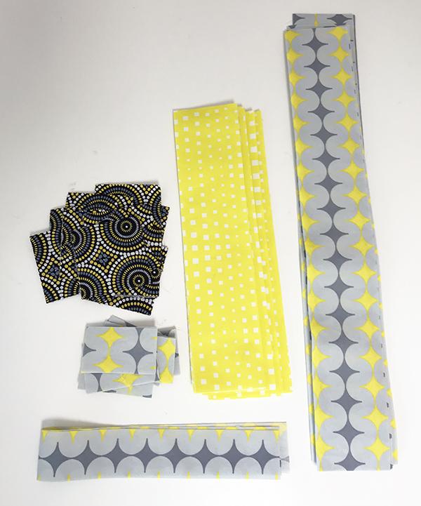 Geo Pop fabric, Infrastructure Pattern
