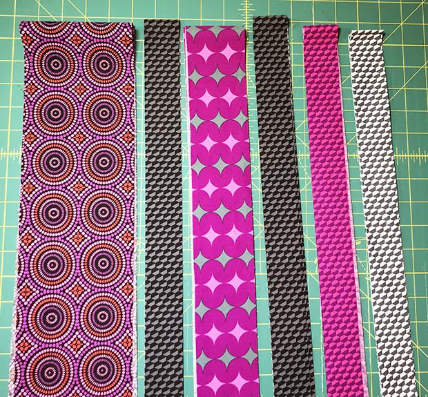 Infrastructure Row 9 Geo Pop fabric