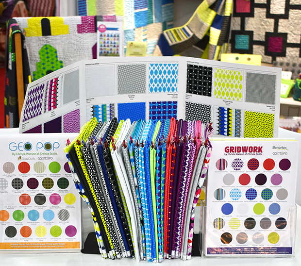 Gridwork Fabric Swatches