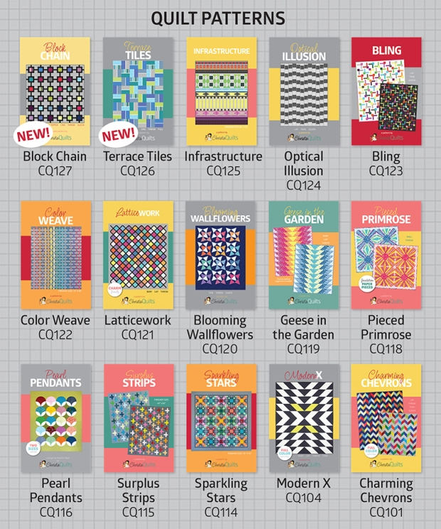 ChristaQuilts Patterns