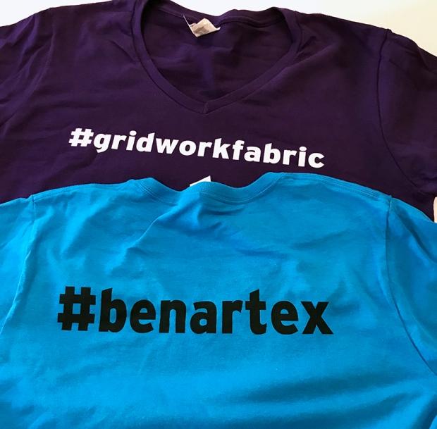 Benartex Gridwork Tees