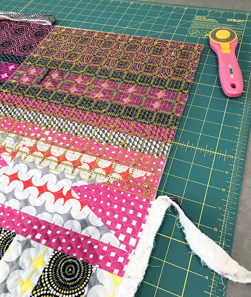 Infrastructure Quilt in Progress