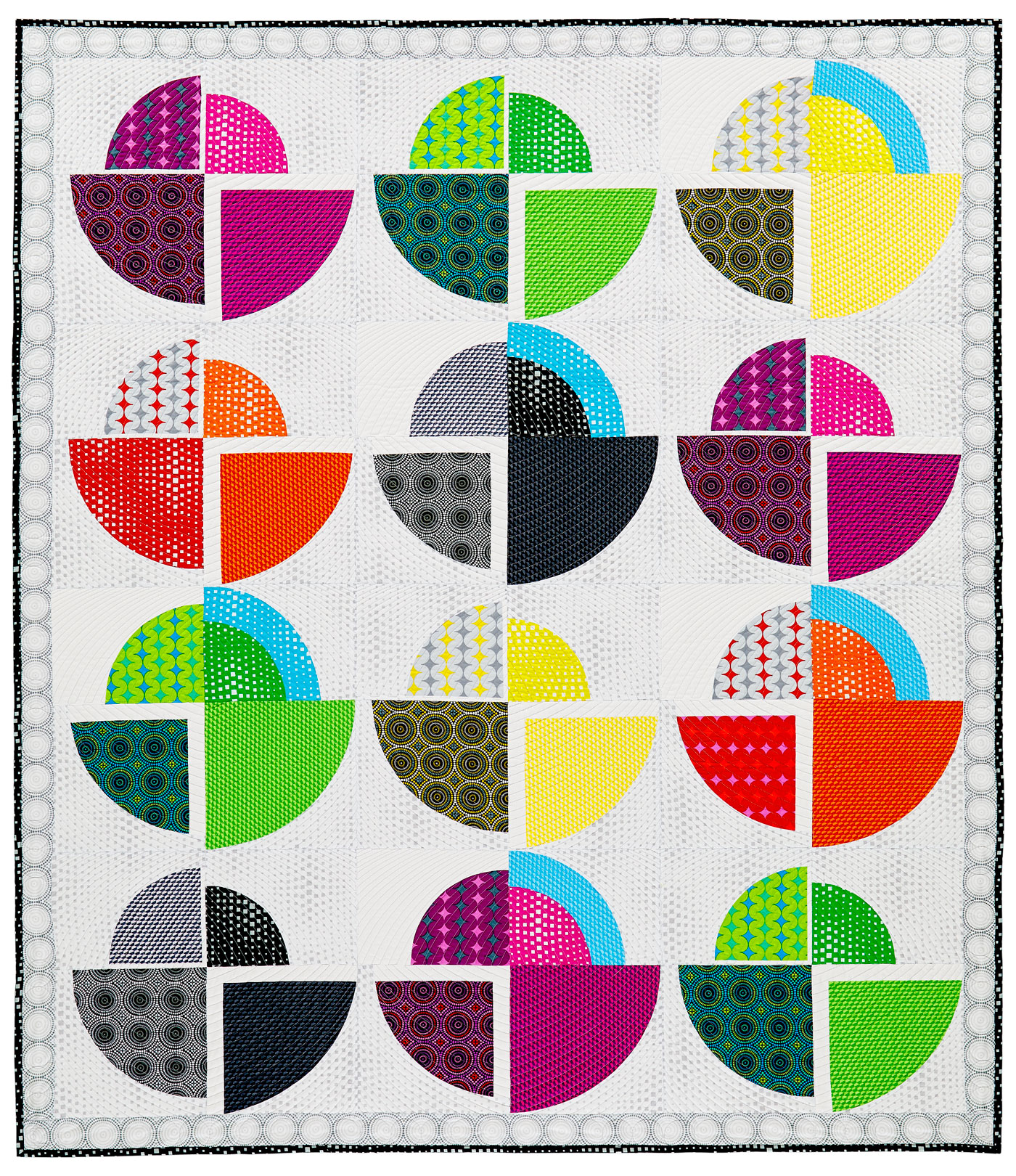 Make The Rounds Quilt by Heather Black