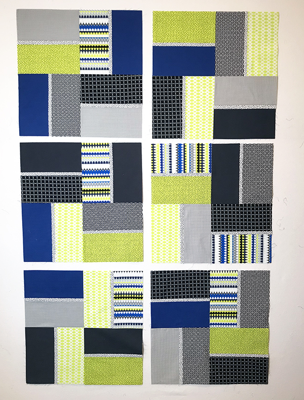 Citron Terrace Tiles Quilt