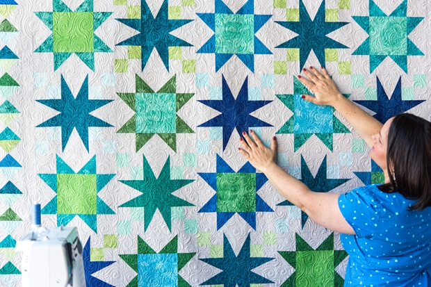 Starry Path Quilt with Christa Watson