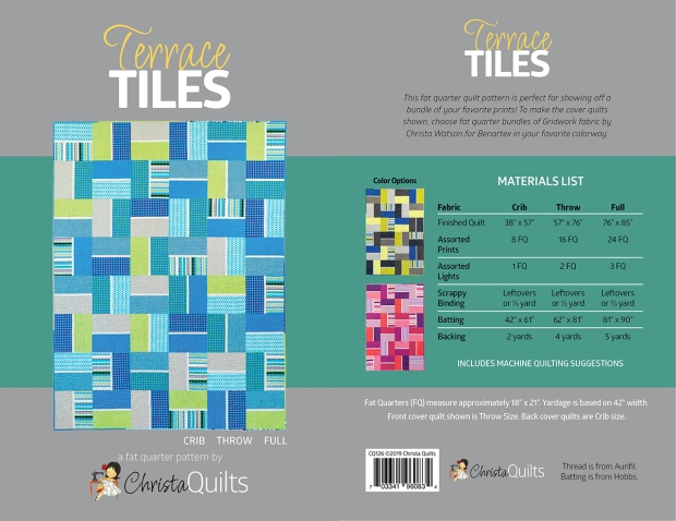 Terrace Tiles by Christa Watson