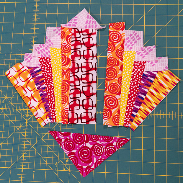 Paper Pieced Primrose Blocks