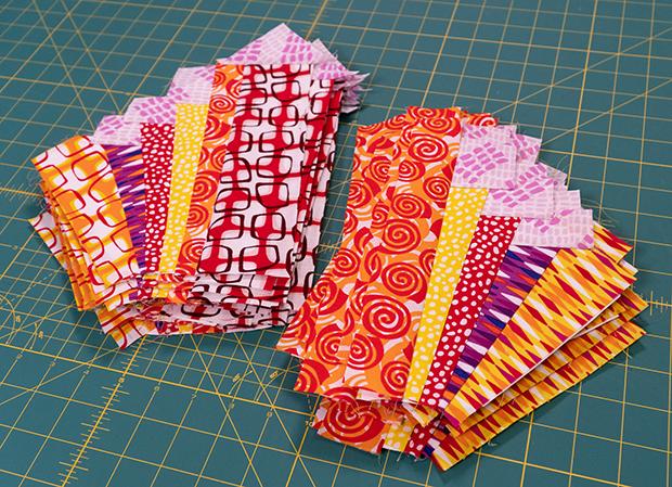 Pieced Primrose Quilt Blocks
