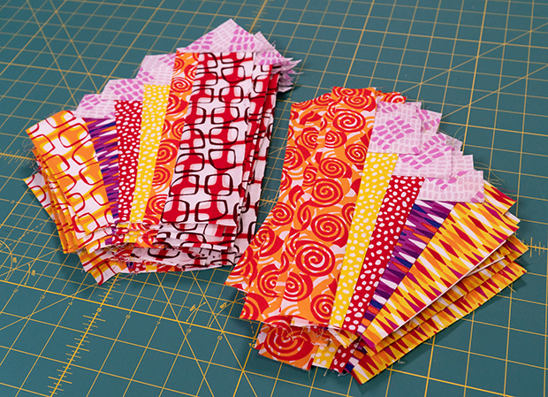 Pieced Primrose Quilt Blocks