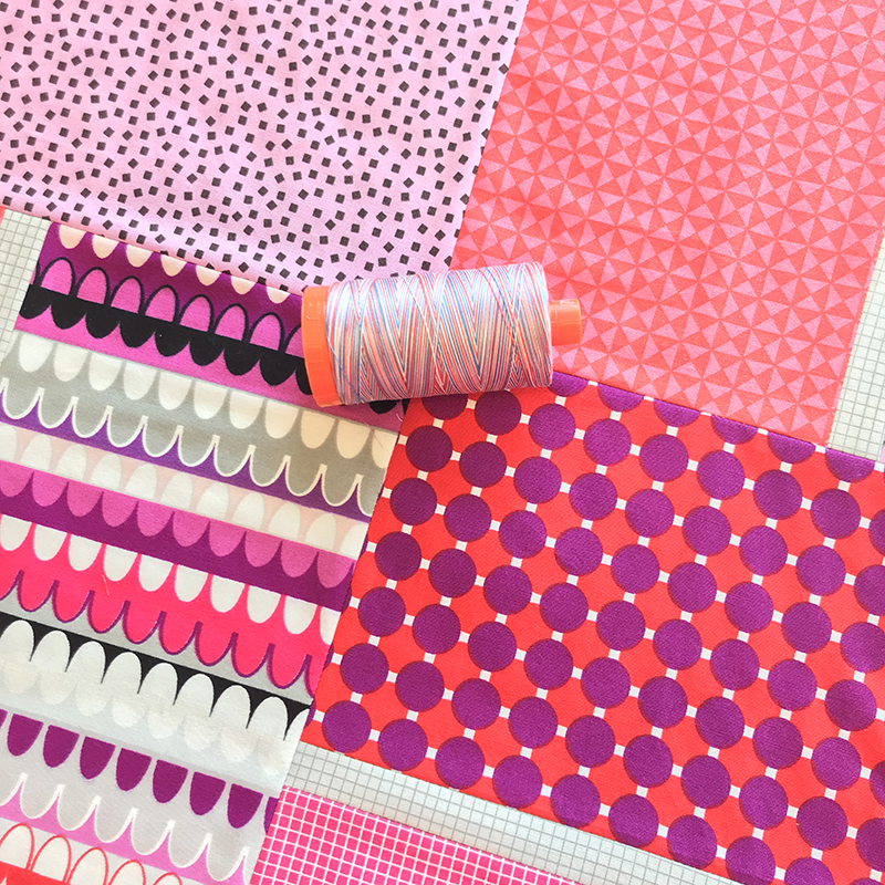 Aurifil Variegated Thread by Christa Watson