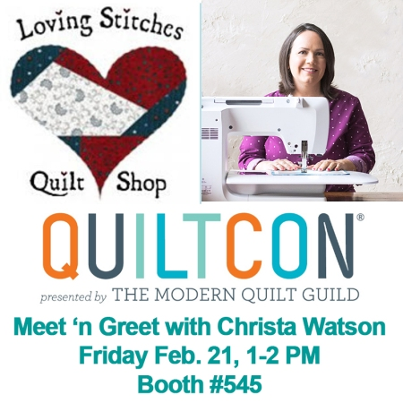 QuiltCon Meet'n greet